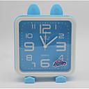 hesapli Duvar Saatleri-saat masa saati modern çağdaş plastik kare