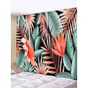 hesapli Duvar Dekorasyonu-Bahçe Teması / Çiçek Teması Duvar Dekoru %100 Polyester Klasik / Modern Duvar Sanatı, Duvar Halılar Dekorasyon