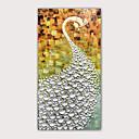 povoljno Apstraktno slikarstvo-Hang oslikana uljanim bojama Ručno oslikana - Poznat Životinje Moderna Bez unutrašnje Frame