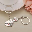 זול ממיר כוח-שרשרת מפתחות לב Fashion Ring תכשיטים כסף עבור מתנה אָהוּב
