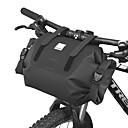 abordables Sacoches de Guidon de Vélo-7 L Sacoche de Guidon de Vélo Etanche Portable Vestimentaire Sac de Vélo TPU 600D Polyester Matériau imperméable Sac de Cyclisme Sacoche de Vélo Cyclisme Vélo Cyclisme