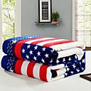 billige Tæpper ogplaider-Seng tæpper / Sofa kaste / Multifunktionelle tæpper, Klassisk polyester Varmer comfy Ekstra blødt dyner