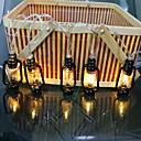 זול חוט נורות לד-3M חוטי תאורה 20 נוריות לבן חם דקורטיבי 3 V 1set