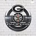 זול טפטים-winklok פקרס ויניל שעון קיר לייזר חרוט ויניל lp שיא צללית אמנות בית עיצוב קלאסי שעון