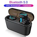 halpa Kuulokkeet ja kuulokkeet-z-yeuy q32 tws todellinen langaton korvakuuloke bluetooth 5.0 binauraalinen urheilukorvaimella latauslaatikko iPhone-puhelimeen