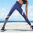halpa Kuntoilu-, juoksu- ja joogavaatetus-Naisten Joogahousut Urheilu Color Block Pyöräily Sukkahousut Alaosat Juoksu Fitness Kuntosaliharjoitus Activewear Pehmeä Butt Lift Power Flex Elastinen Ohut