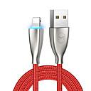 povoljno Sportske slušalice-Rasvjeta Kabel 1.8M (6ft) U obliku pletenice / High Speed / Pozlaćeni legura cinka / Najlon / svjetlećim USB kabelski adapter Za iPad / iPhone