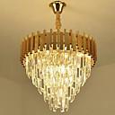 povoljno Lusteri-QIHengZhaoMing Kristal Lusteri Ambient Light Slikano završi Metal 110-120V / 220-240V Meleg fehér / E12 / E14