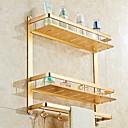 זול מדפי מקלחת-צדף לחדר האמבטיה יצירתי / רב שימושי מודרני פליז 1pc מותקן על הקיר