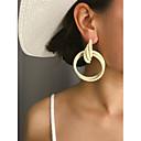 זול עגילים-בגדי ריקוד נשים עגיל עגילים תכשיטים ורוד / ורוד בהיר / בז ' /  לבן עבור Party מתנה יומי קרנבל חגים זוג 1