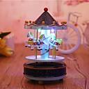 זול ה לד תאורה חכמה-1pc LED לילה אור סוללות AA יצירתי 5 V