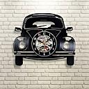 זול רכב הגוף קישוט והגנה-רכב רטרו ויניל שיא שעון קיר - לקשט את הבית שלך עם אמנות מודרנית - מתנה לילדים ונערים סיאט