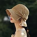 זול חכמים wristbands-כל העונות ורוד מסמיק בז' חאקי כובע פאדורה כובע עם שוליים רחבים קולור בלוק סריגים פעיל בסיסי סגנון חמוד בגדי ריקוד נשים