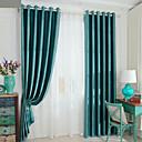 hesapli Tavan Fanları-Karartma İki Panel Perde Oturma Odası   Curtains / Kabartılmış