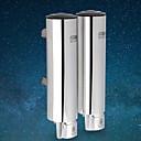 זול Soap Dispensers-כלי לסבון עיצוב חדש / מגניב מודרני פלדת על חלד 1pc מותקן על הקיר