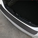 halpa Autojen korien koristelu ja suojaus-60x6,7 cm: n yleiset autotarrat oven kynnyksen tossut naarmuuntumattomilta hiilikuituautotarratarrat