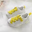 זול Kids' Flats-בנות נוחות רשת נעלי אתלטיקה ילדים קטנים (4-7) צהוב / ירוק / ורוד קיץ