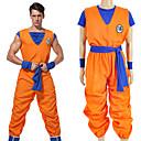 povoljno Anime kostimi-Inspirirana Dragon Ball Son Goku Anime Cosplay nošnje Japanski Cosplay Suits Slovo Others / Top / Hlače Za Uniseks / Traka / vrpca / Traka / vrpca
