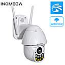 Недорогие IP-камеры для помещений-Inqmega 2-мегапиксельная PTZ IP-камера скорость купола Wi-Fi беспроводная сеть 5-кратный зум CCTV камеры наружного наблюдения безопасности водонепроницаемая камера ночного видения двусторонняя аудио