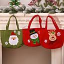 povoljno Božićni ukrasi-Poklon vrećice Odmor Tkanina Kvadrat Noviteti Božićni ukras