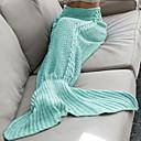 billige Tæpper ogplaider-Sofa kaste, Klassisk Bomuld / Polyester comfy dyner