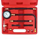 baratos Medidores de Pressão de Pneus-0-100 psi bomba de injeção de combustível kit de medidor de teste de pressão do injetor de pressão do injetor de combustível