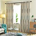 זול וילונות חלון-שני פנלים וילונות אפלה בסגנון נורדי עלים מייפל וילונות חדר ילדים בחדר שינה