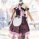 povoljno Anime kostimi-Inspirirana Čudo Nikki Cosplay Anime Cosplay nošnje Japanski Dresses Haljina / Povez za ruku / Luk Za Žene / Šeširi / 360 stupnjeva Ručni ručni remen