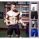 povoljno Odjeća za trčanje-Muškarci Trčanje pod kratkim hlačama Kompresijske kratke hlače Sportski Kratke hlače Kompresivna odjeća Fitness Trening u teretani Vježbati vježba Mala težina Prozračnost Fitness, trčanje & Yoga Crn