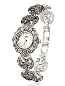 cheap Quartz Watches-Women's Bracelet Watch Japanese Quartz Silver Casual Watch Analog Ladies Flower Fashion Elegant - Silver One Year Battery Life / SSUO SR626SW