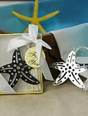 baratos Vestidos para as Mães dos Noivos-Casamento / Chá de Cozinha Aço Inoxidável Marcadores e Abre Cartas Tema Praia