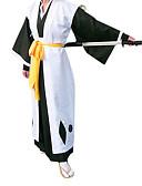 preiswerte Krawatten & Fliegen-Inspiriert von Cosplay Cosplay Anime Cosplay Kostüme Cosplay Kostüme / Kimonoo Patchwork Langarm Weste / Gürtel / Kimono Jacke Für Herrn / Damen Halloween Kostüme