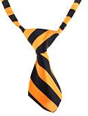 cheap Men's Ties & Bow Ties-Cat / Dog Tie / Bow Tie Dog Clothes White / Orange Nylon Costume For Pets Wedding