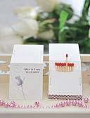 cheap Wedding Gifts-Personalized Matchbox Material / Hard Card Paper Wedding Decorations Wedding / Party Floral Theme / Wedding Spring / Summer / All Seasons