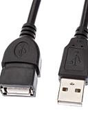 olcso Divatos övek-USB 2.0 hosszabbító kábel M / F kábel (1.5m)
