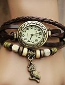 cheap Quartz Watches-Women's Bracelet Watch Casual Watch PU Band Bohemian / Fashion Black / Blue / Red / One Year / Jinli 377