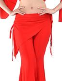 hesapli Göbek Dansı Giysileri-Göbek Dansı Alt Giyimler Kadın's Eğitim Suni İpek Doğal / Balo Salonu