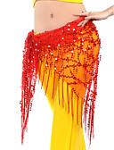 Χαμηλού Κόστους Αξεσουάρ Χορού-Χορός της κοιλιάς Σάλι για Χορό της Κοιλιάς Γυναικεία Εκπαίδευση Chinlon Πούλιες / Φούντα Φουλάρι Γοφών για Χορό της Κοιλιάς