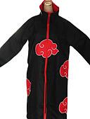 preiswerte Hochzeitsschleier-Inspiriert von Naruto Akatsuki Anime Cosplay Kostüme Cosplay Kostüme Anime Langarm Umhang Für Herrn Halloween Kostüme