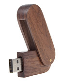 cheap Men's Polos-8GB usb flash drive usb disk USB 2.0 Wooden Rotating Compact Size