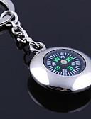 baratos Relógios Femininos-Chaveiro personalizado gravado dom Compass forma redonda