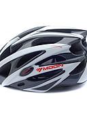 cheap Cycling Pants, Shorts, Tights-MOON Adults Bike Helmet 25 Vents CE Impact Resistant EPS, PC Sports Road Cycling / Cycling / Bike / Mountain Bike / MTB - Black / White Men's / Women's
