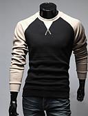 cheap Fashion Belts-Men's Chic & Modern Hoodie - Color Block