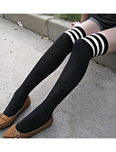 cheap Women's T-shirts-Women's Thin Stockings - Striped