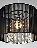 halpa Muotialusvaatteet-Drum Riipus valot Alavalot - Kristalli, LED, 110-120V / 220-240V, Lämmin valkoinen / Kylmä valkoinen, Polttimo ei ole mukana toimitksessa