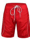 baratos Roupas de Banho Masculinas-Homens Shorts de Natação Poliéster Roupa de Banho Roupa de Praia Bermuda de Surf
