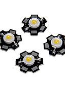 billige Kjoler til nytårsaften-zdm 5 stk 1w 80-100lm høj lysstyrke chip, høj effekt ledet varm hvid højde 3000-3500k, aluminium substrat (dc3-3.2v 350ma)