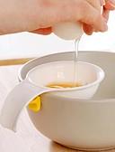 رخيصةأون بلوزات نسائية-مصغرة صفار البيض الأبيض فاصل مع حامل سيليكون أداة مطبخ فاصل البيض