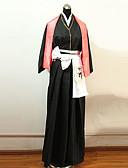 preiswerte T-Shirt-Inspiriert von Dead Rangiku Matsumoto Anime Cosplay Kostüme Cosplay Kostüme Kimonoo PatchworkGürtel Schleife Kimono Jacke Hakama Hosen