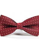 cheap Men's Ties & Bow Ties-Men's Party / Work / Basic Bow Tie - Polka Dot